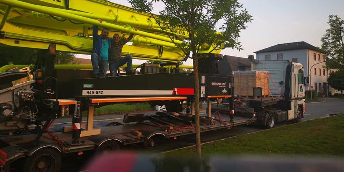 Oversize Shipment from Turkey via Poland to French